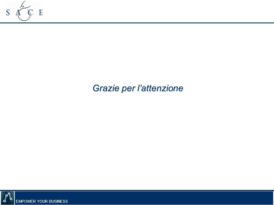 EMPOWER YOUR BUSINESS Grazie per lattenzione