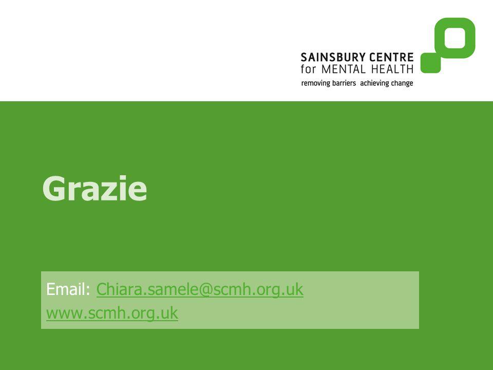 Grazie Email: Chiara.samele@scmh.org.ukChiara.samele@scmh.org.uk www.scmh.org.uk