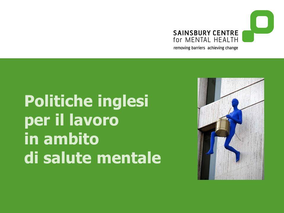 Politiche inglesi per il lavoro in ambito di salute mentale