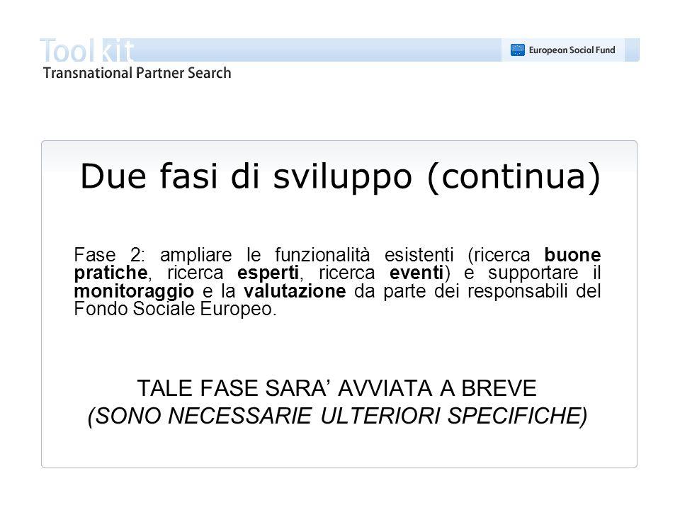 DEMO http://www.transnational-toolkit.eu/