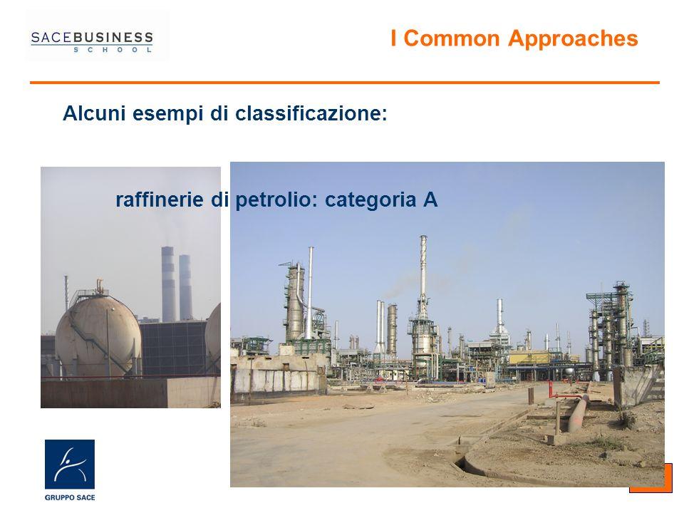 10 Alcuni esempi di classificazione: I Common Approaches raffinerie di petrolio: categoria A