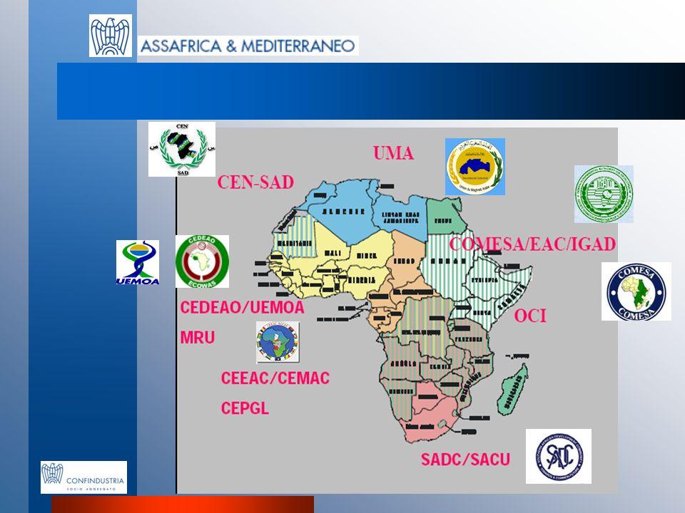 Assafrica & Mediterraneo Associazione per lo Sviluppo delle Imprese Italiane in Africa, Mediterraneo e Medio Oriente Viale dellAstronomia, 30 00144 ROMA TEL 06 59 03 670 FAX 06 59 03 730 Email: info@assafrica.it Email: info@assafrica.it www.assafrica.it