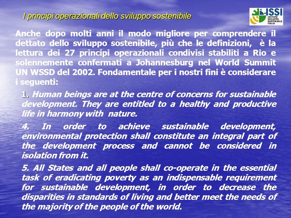 Responsabilità e Precauzione 7.