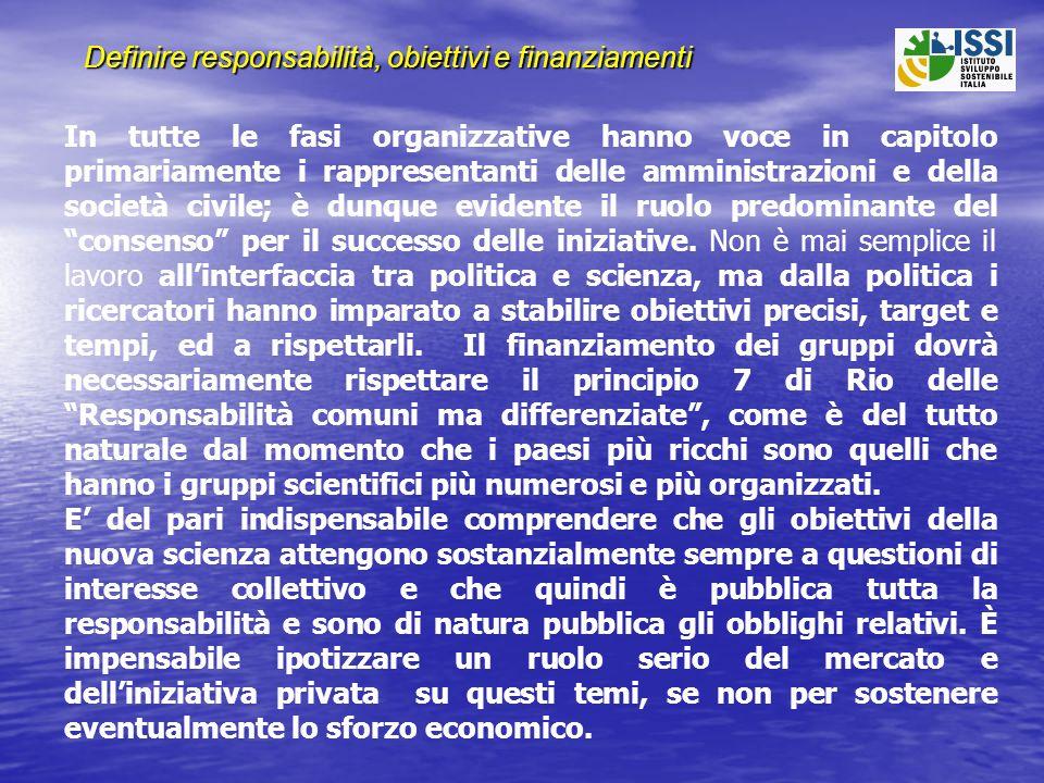 Lesempio dellIPCC, International Panel on Climate Change