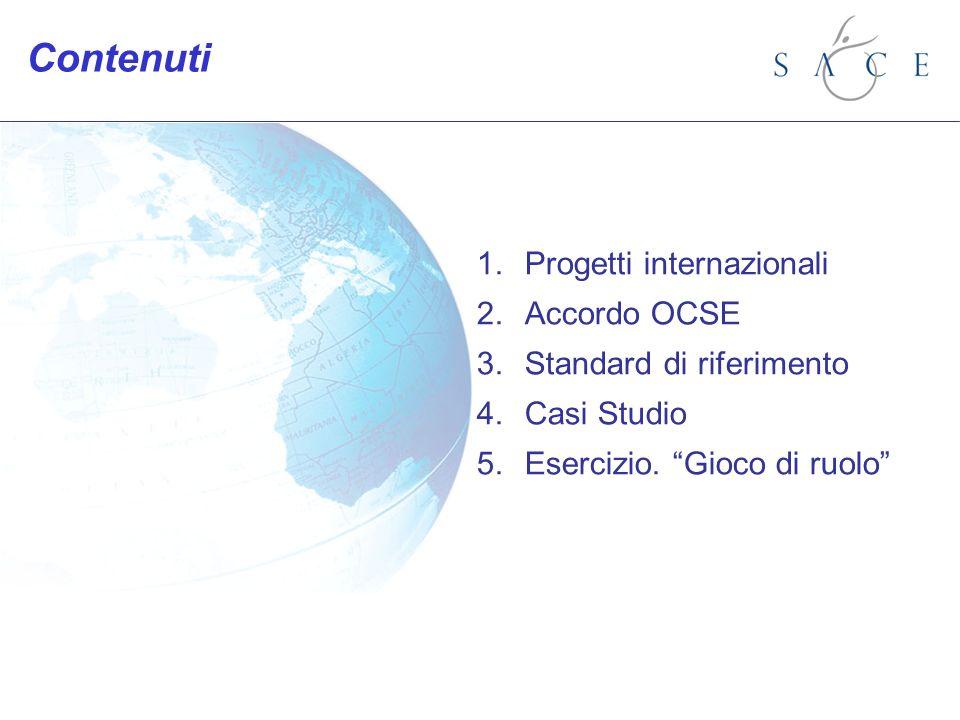 4.Caso studio: standard Esempio: Impianto completo, area industriale, settore non sensibile.