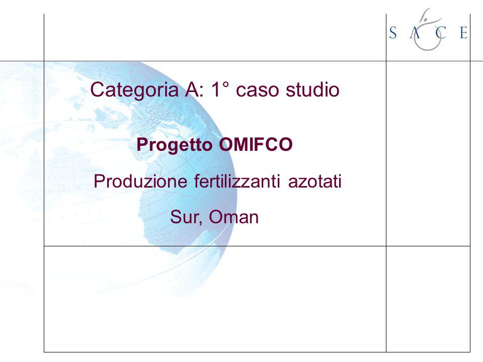 Categoria A: 1° caso studio Progetto OMIFCO Produzione fertilizzanti azotati Sur, Oman