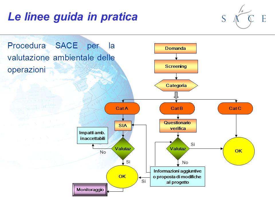 Domanda Screening Categoria Cat A SIA Audit Question OK Valutaz Impatti amb.