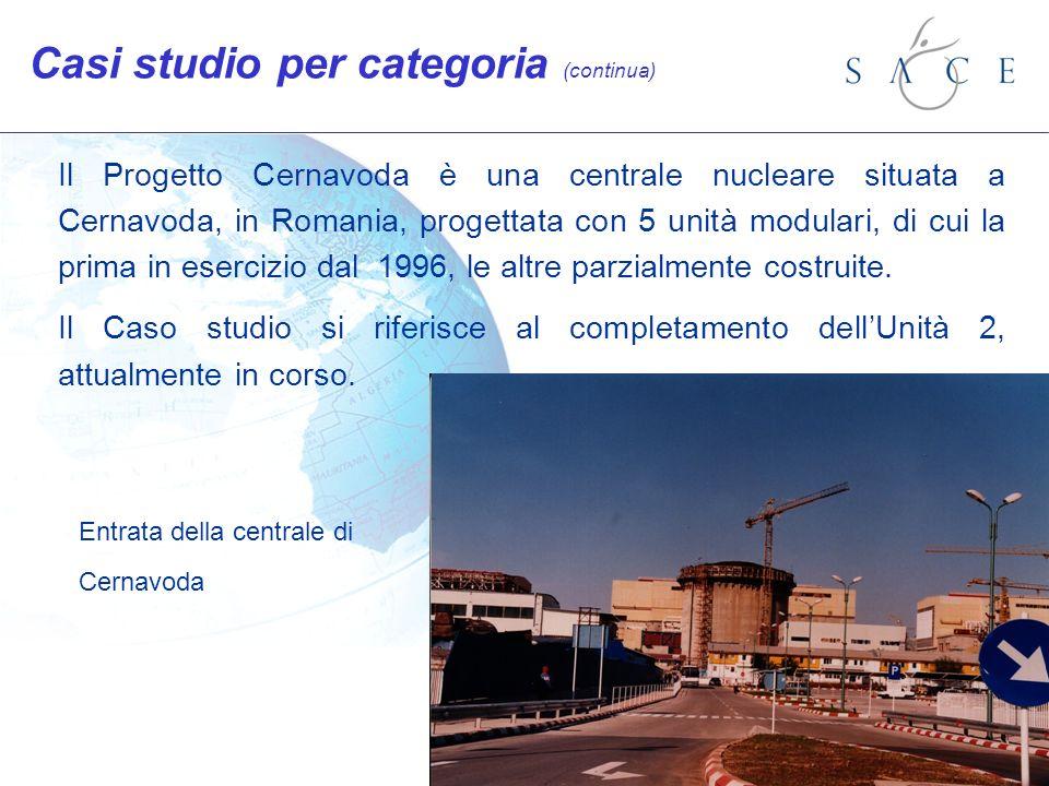 Il Progetto Cernavoda è una centrale nucleare situata a Cernavoda, in Romania, progettata con 5 unità modulari, di cui la prima in esercizio dal 1996, le altre parzialmente costruite.