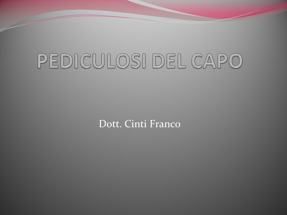 Dott. Cinti Franco