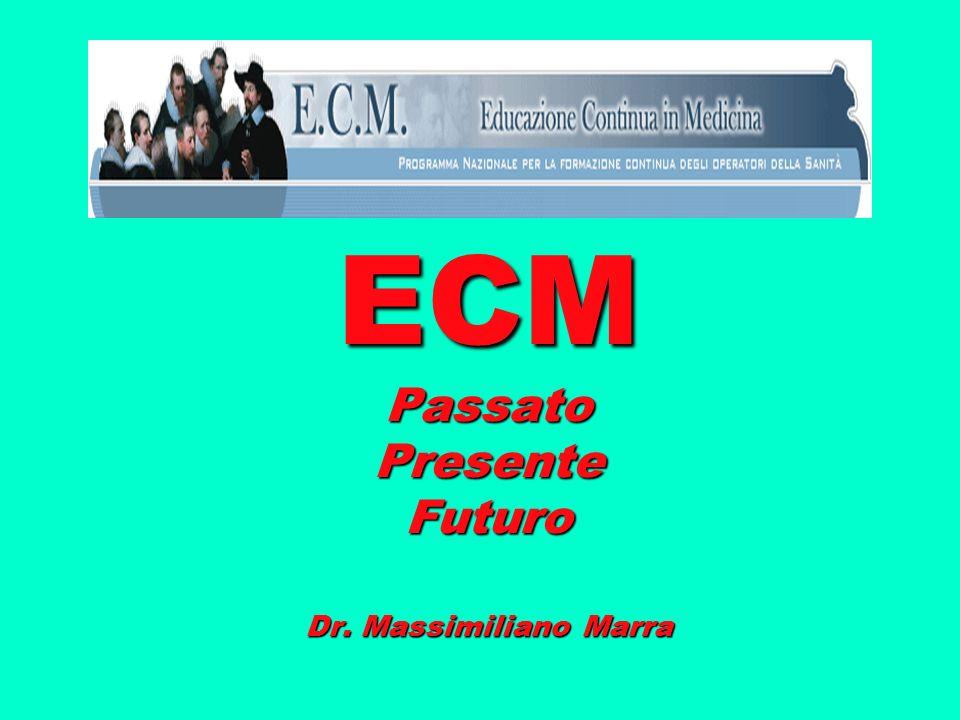 ECM Passato Presente Futuro Dr. Massimiliano Marra
