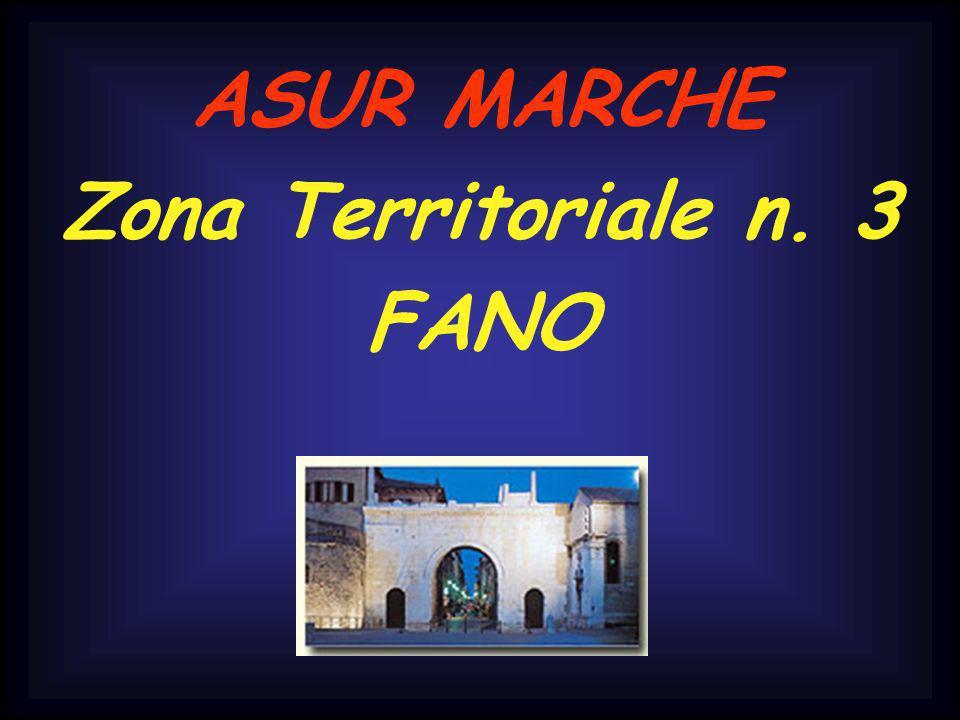 ASUR MARCHE Zona Territoriale n. 3 FANO