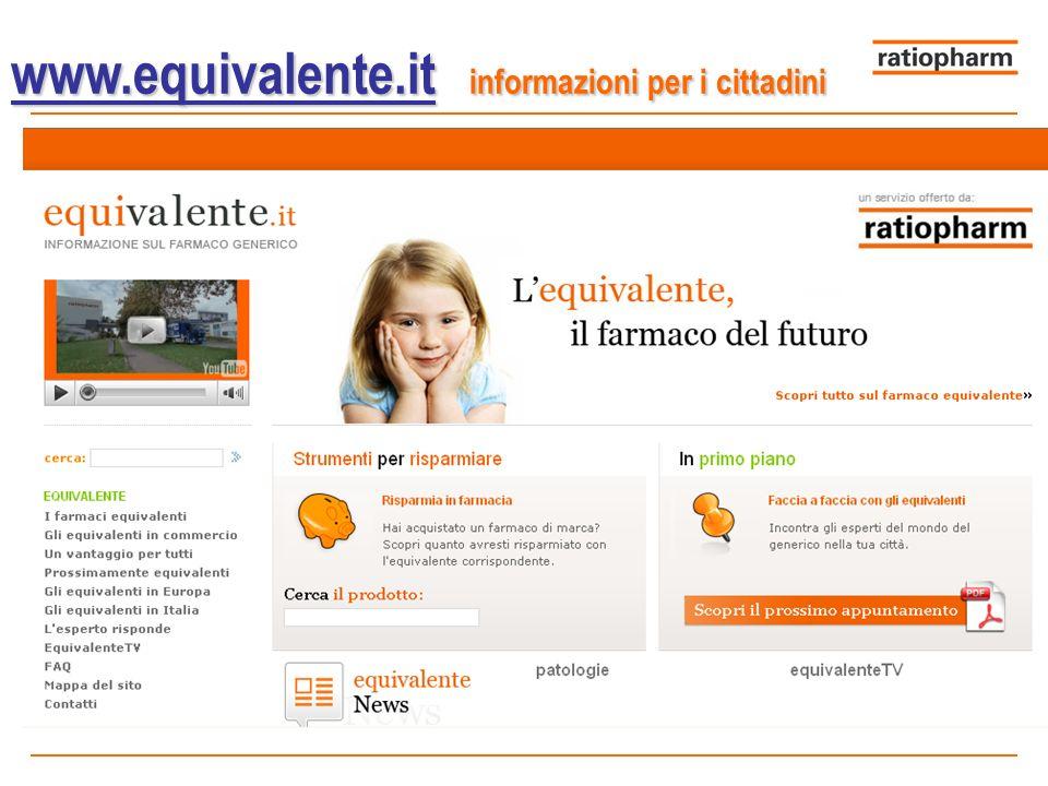 www.equivalente.it www.equivalente.it informazioni per i cittadini www.equivalente.it