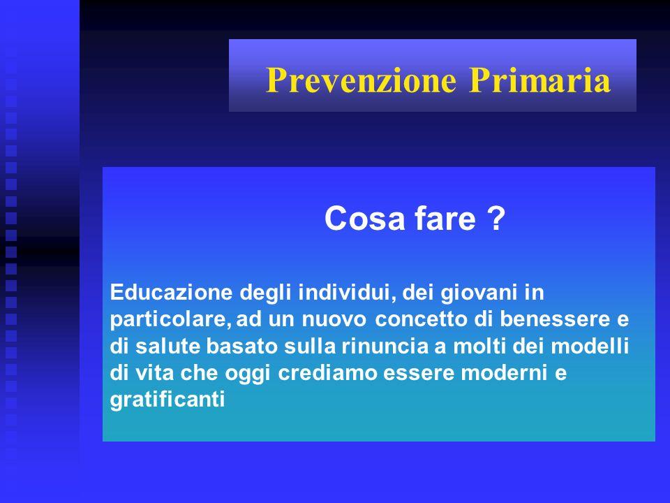Mortalità per tumori maligni di alcune sedi nella Provincia di Pesaro-Urbino (quinquennio 1995-1999, maschi + femmine)