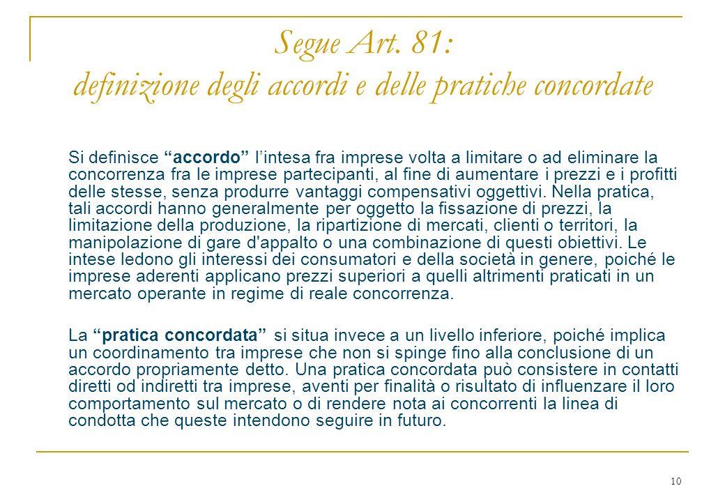 10 Segue Art.