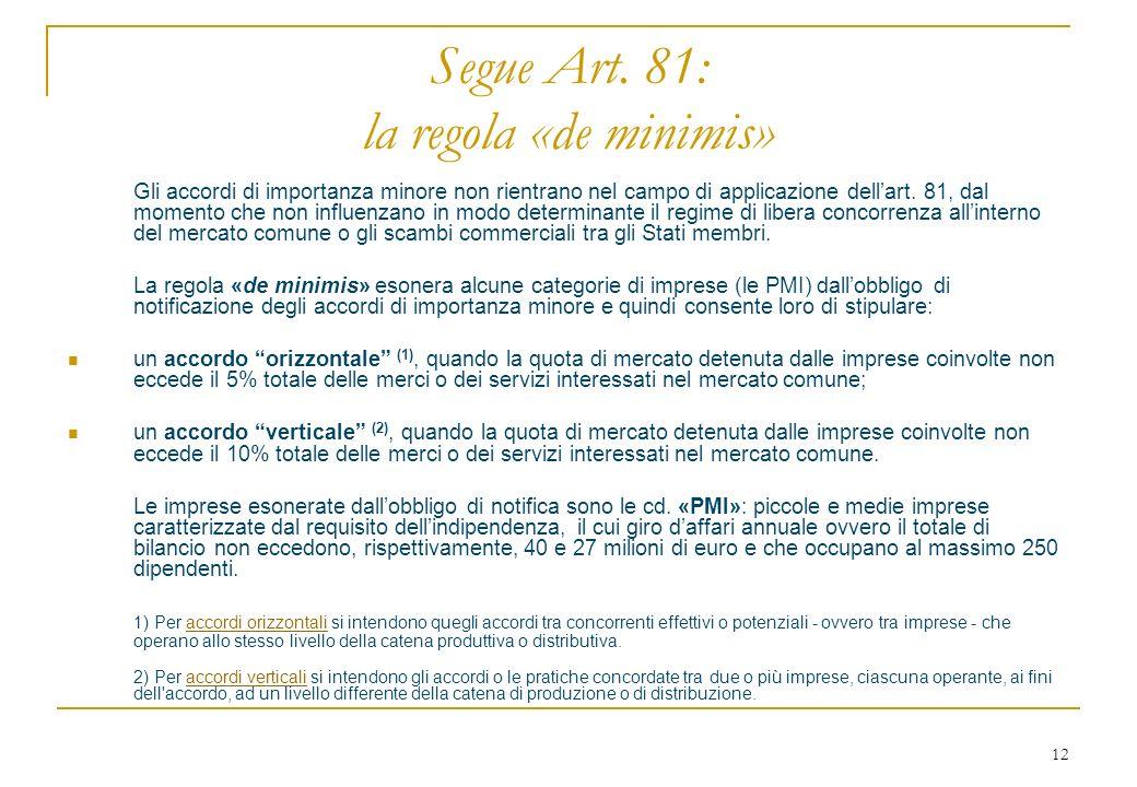 12 Segue Art.