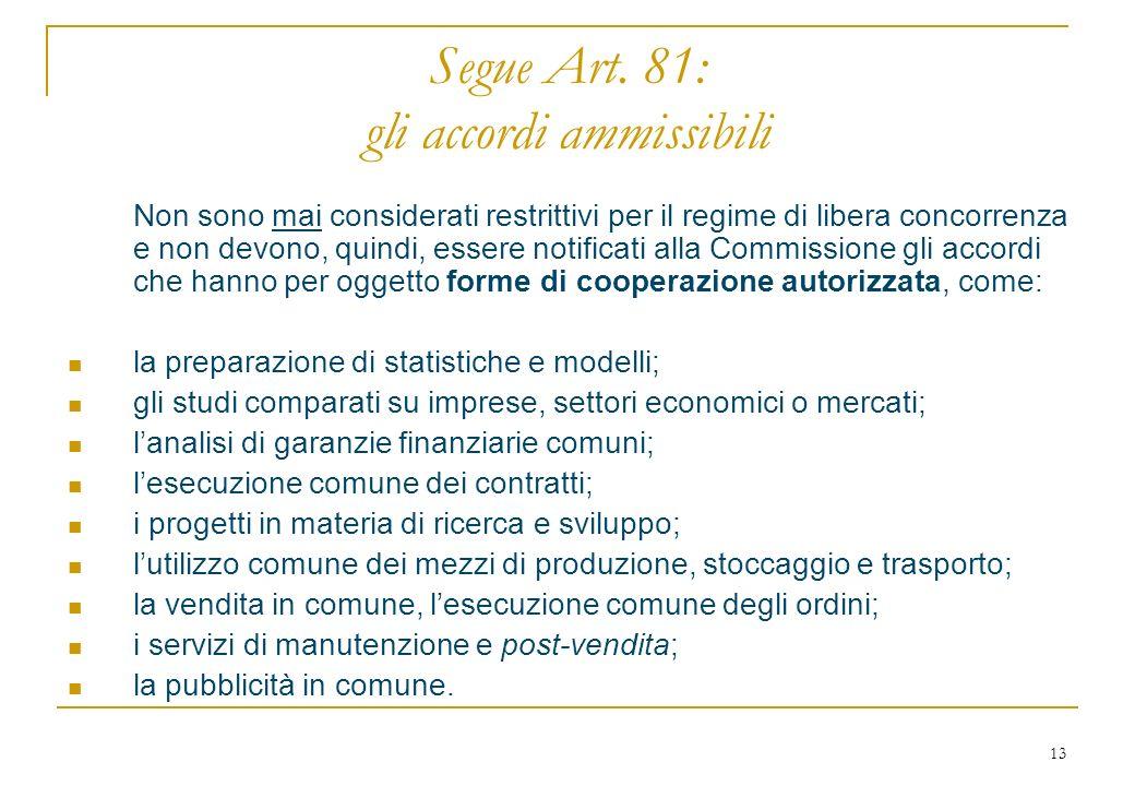 13 Segue Art.