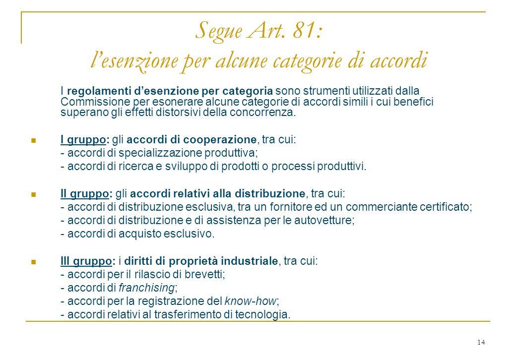 14 Segue Art.