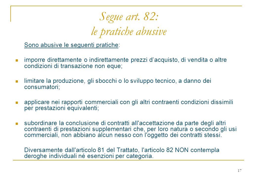 17 Segue art.