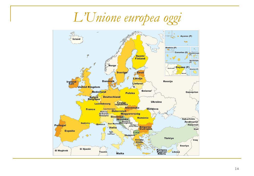 14 LUnione europea oggi
