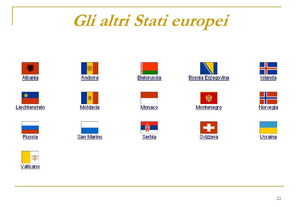 23 Gli altri Stati europei