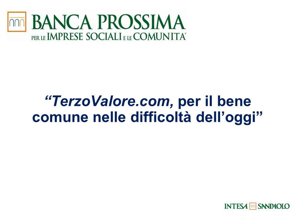 TerzoValore.com, per il bene comune nelle difficoltà delloggi