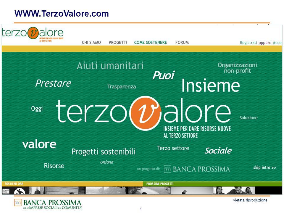4 WWW.TerzoValore.com vietata riproduzione