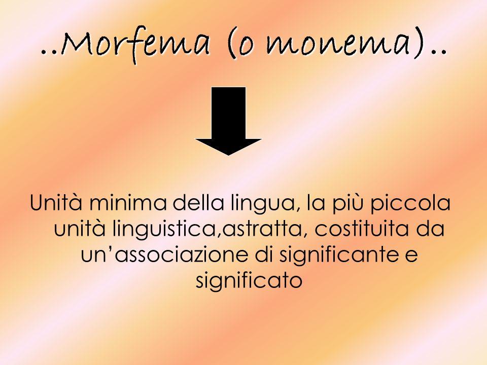 ..Lomonimia e la polisemia..