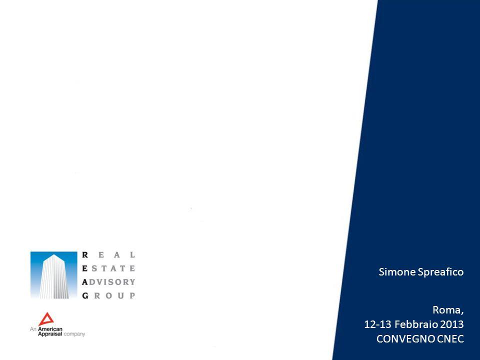 Roma, 12-13 Febbraio 2013 CONVEGNO CNEC Simone Spreafico