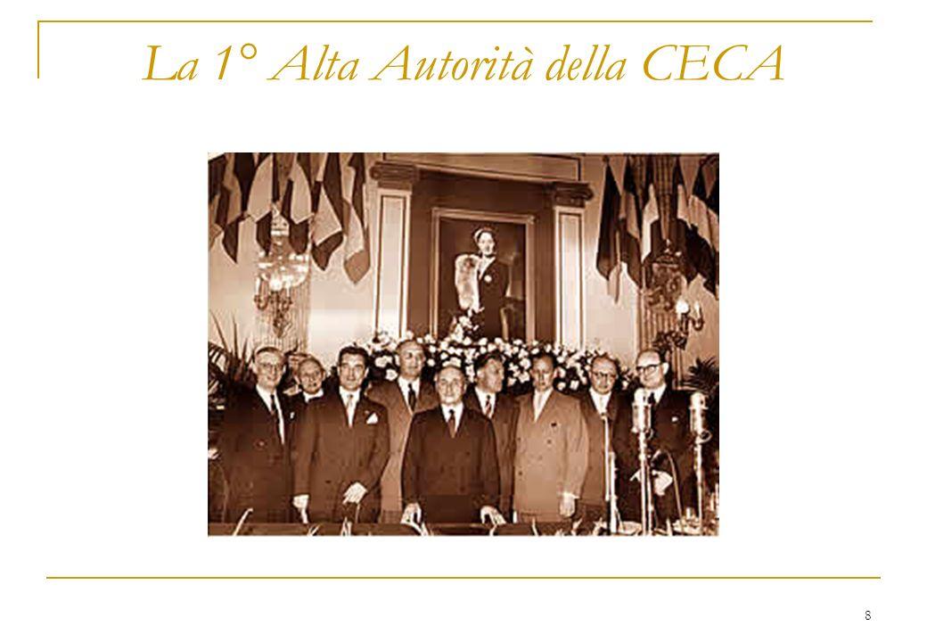 29 Presidente Sicco L. Mansholt (NL) Mandato: 22-3-1972 / 5-1-1973