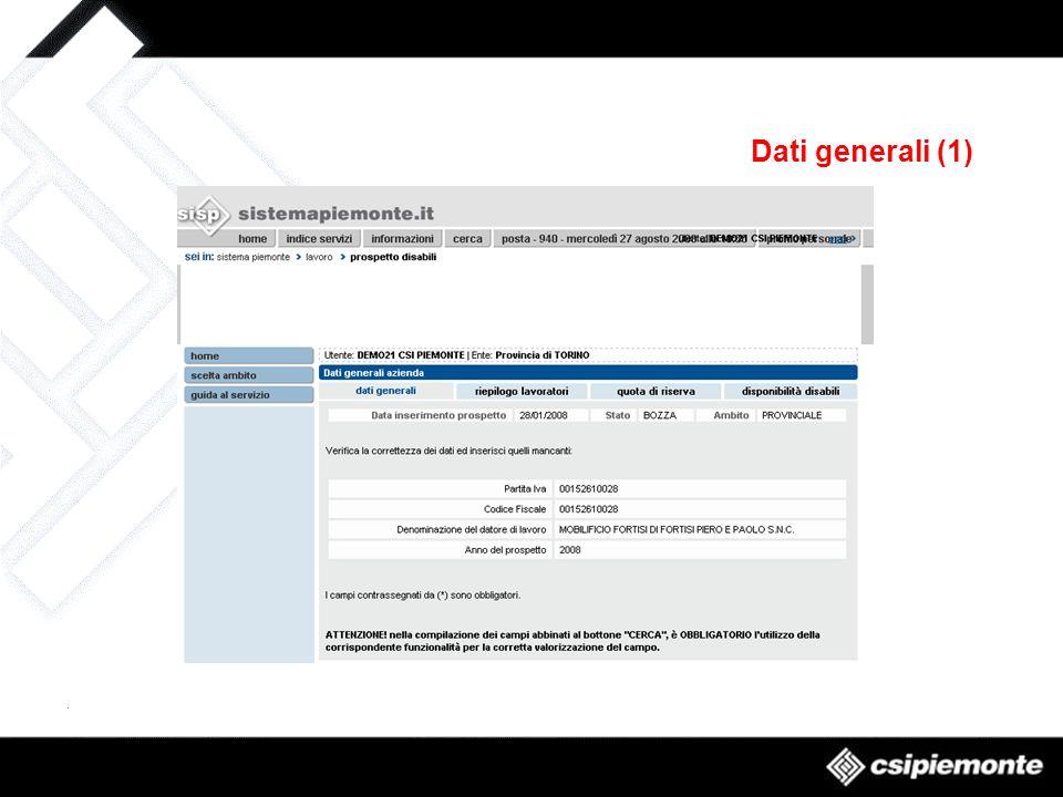 Dati generali (1)