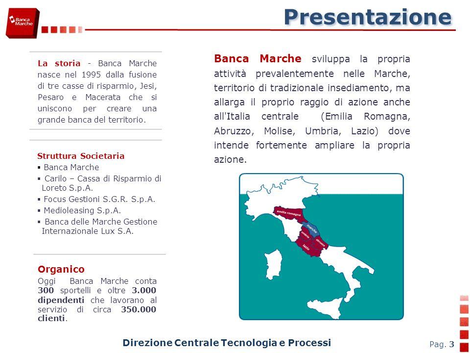 Direzione Centrale Tecnologia e Processi Pag. 34 Combinazione di chiavi CLIENT SERVER BANCA