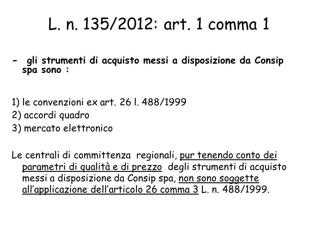 L.n. 135/2012: art.