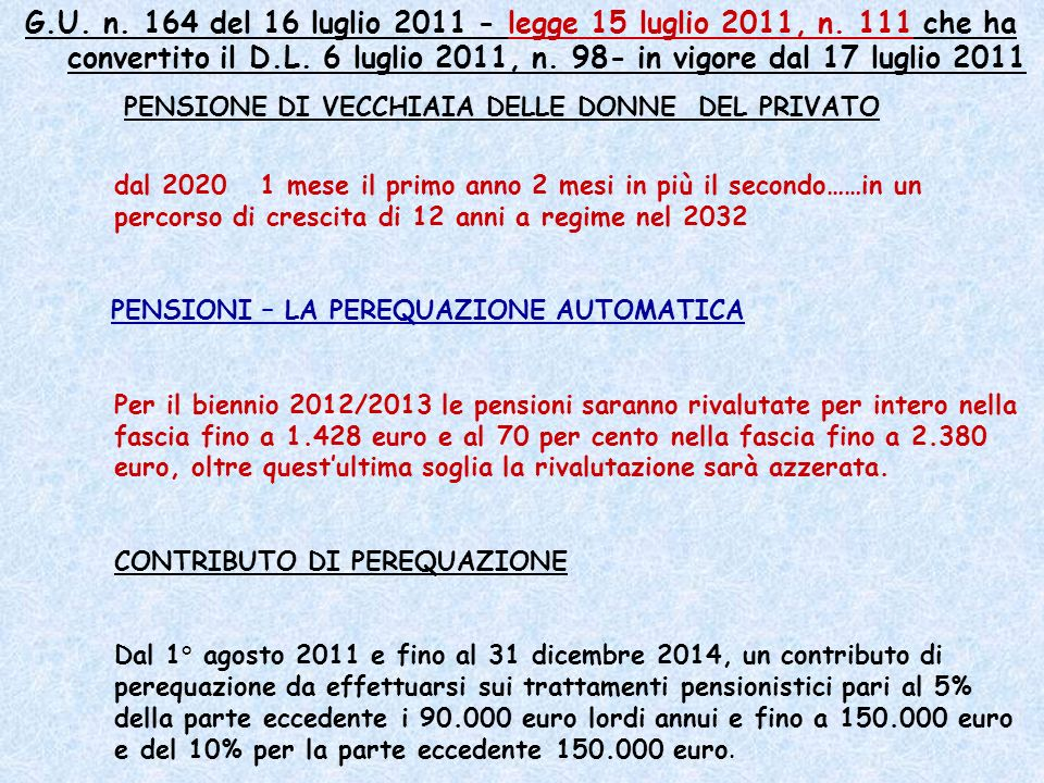 decreto-legge 13 agosto 2011, n.138, convertito nella legge 14 settembre 2011, n.