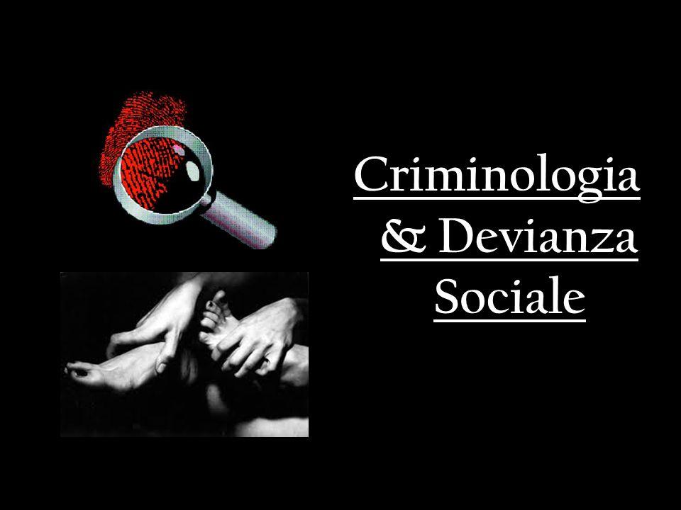 Criminologia: cosè.