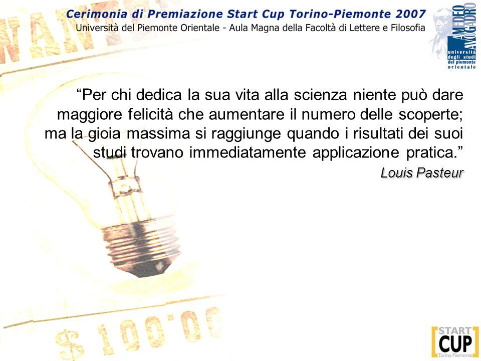 I 3 vincitori di Start Cup Torino Piemonte partecipano al V edizione – Napoli – 4 Dicembre 2007 www.premioinnovazione.it 1° PREMIO euro 60.000 (offerto da Vodafone) 2° PREMIO euro 30.000 3° PREMIO euro 20.000