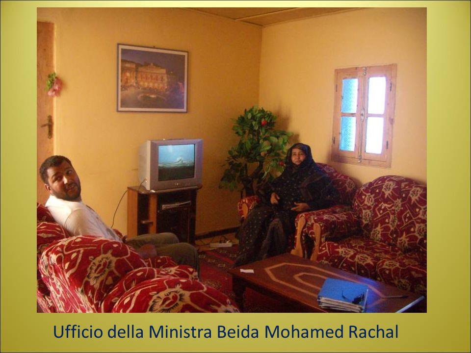Ufficio della Ministra Beida Mohamed Rachal