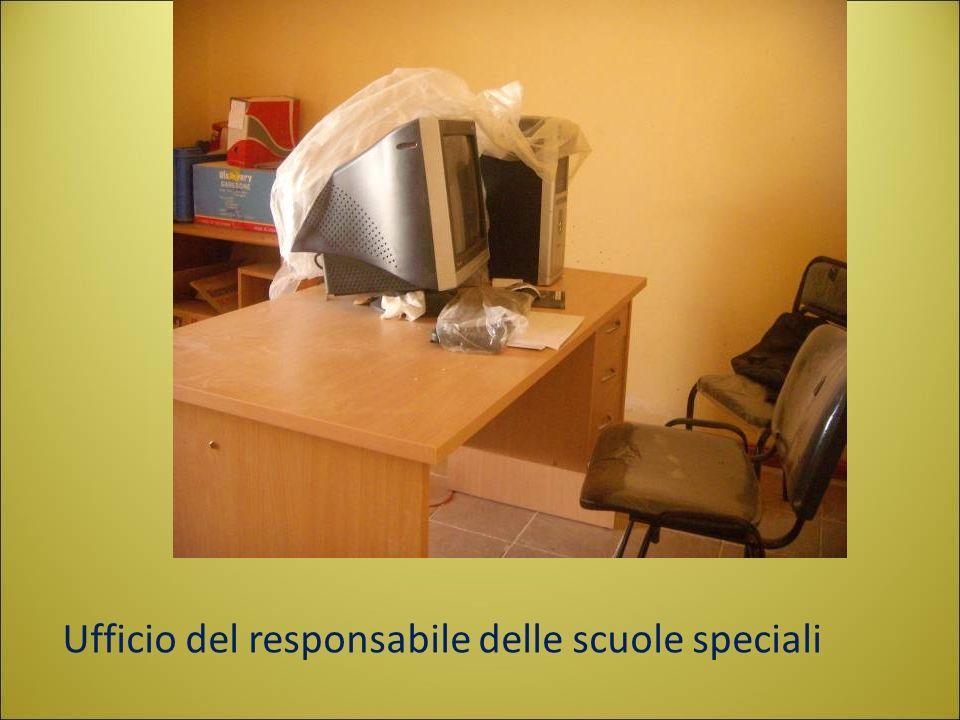 Ufficio del responsabile delle scuole speciali
