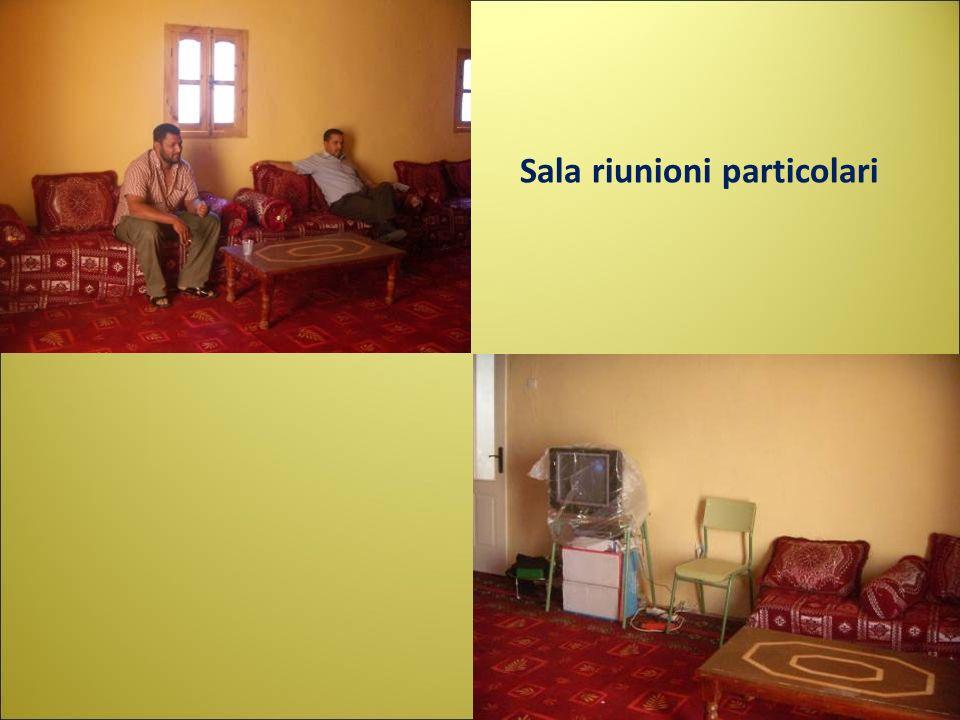 Sala riunioni particolari