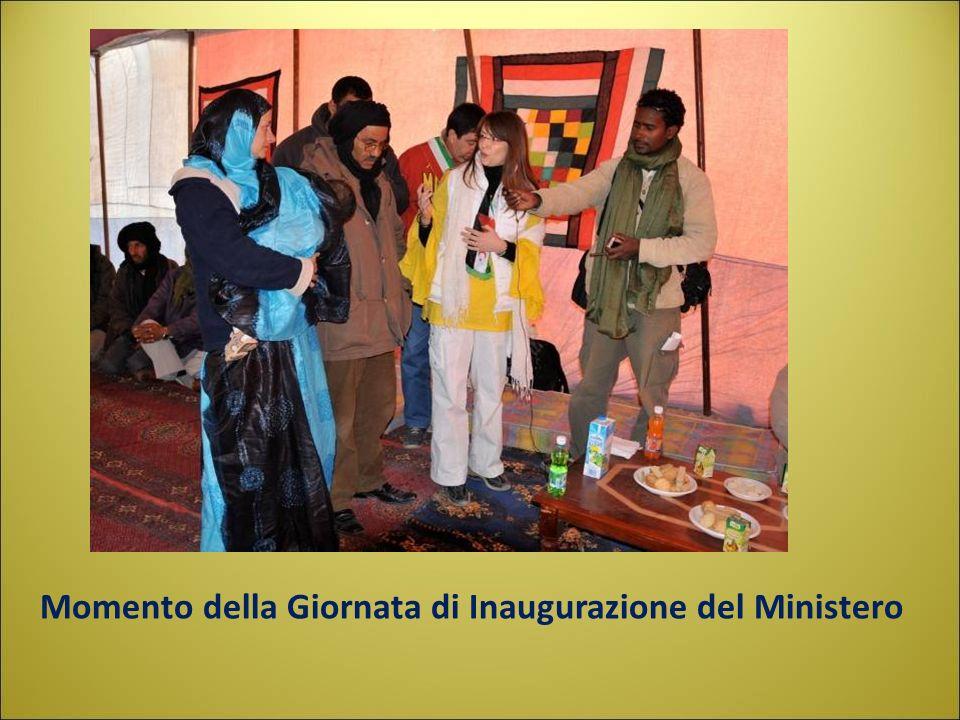 Momento della Giornata di Inaugurazione del Ministero