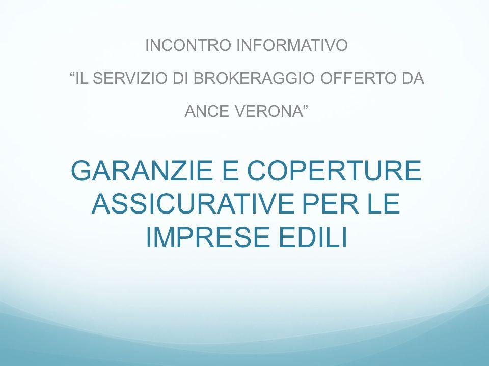 Coperture assicurative tipiche impresa edile Responsabilità civile verso dipendenti e soggetti con contratti di cui al d.