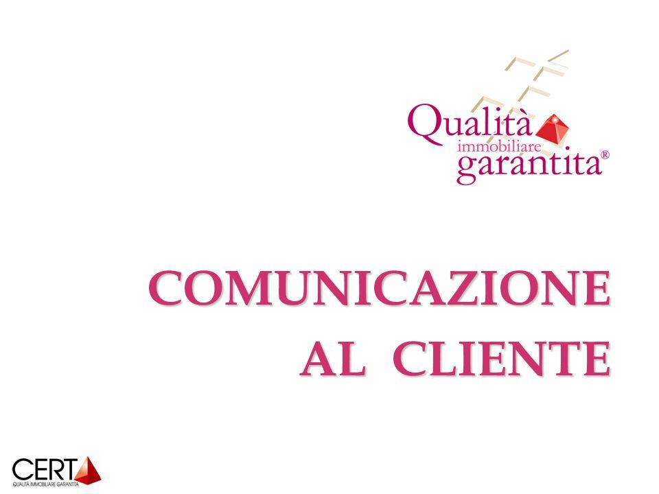 COMUNICAZIONE AL CLIENTE