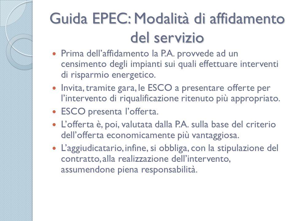 Guida EPEC: Modalità di affidamento del servizio Prima dellaffidamento la P.A.