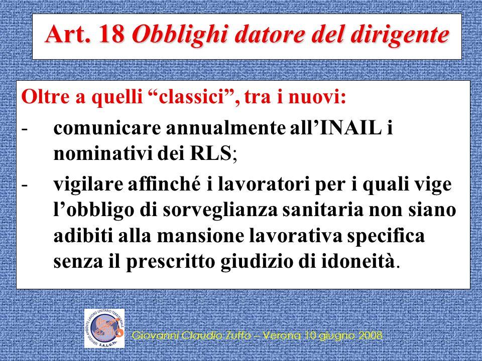 Giovanni Claudio Zuffo – S.A.L.U.Te.
