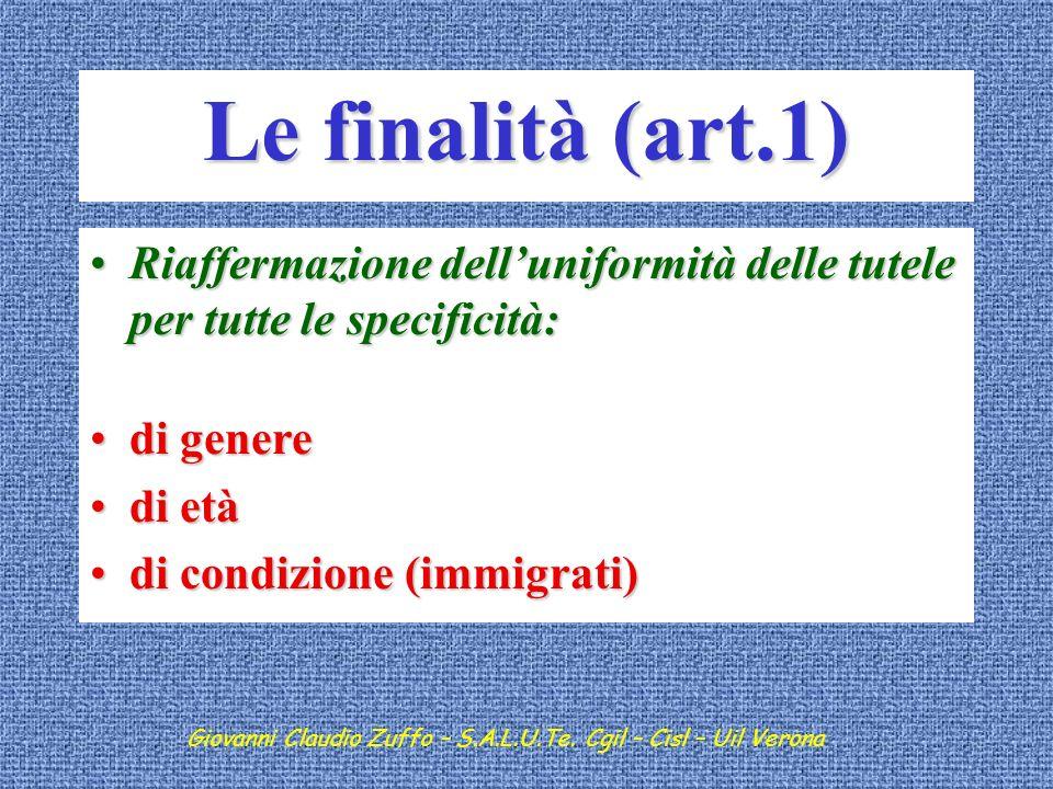 Giovanni Claudio Zuffo – Verona 10 giugno 2008 Filosofia dellart.2087 Le principali novità sostanziali Inserimento filosofia art.