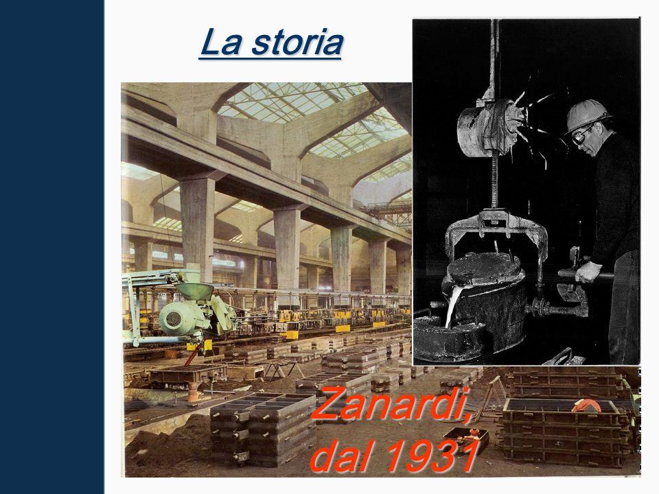 La Produzione La fonderia ha iniziato la sua attività nel 1931.Produce getti in ghisa formati in sabbia.La fonderia ha iniziato la sua attività nel 1931.Produce getti in ghisa formati in sabbia.