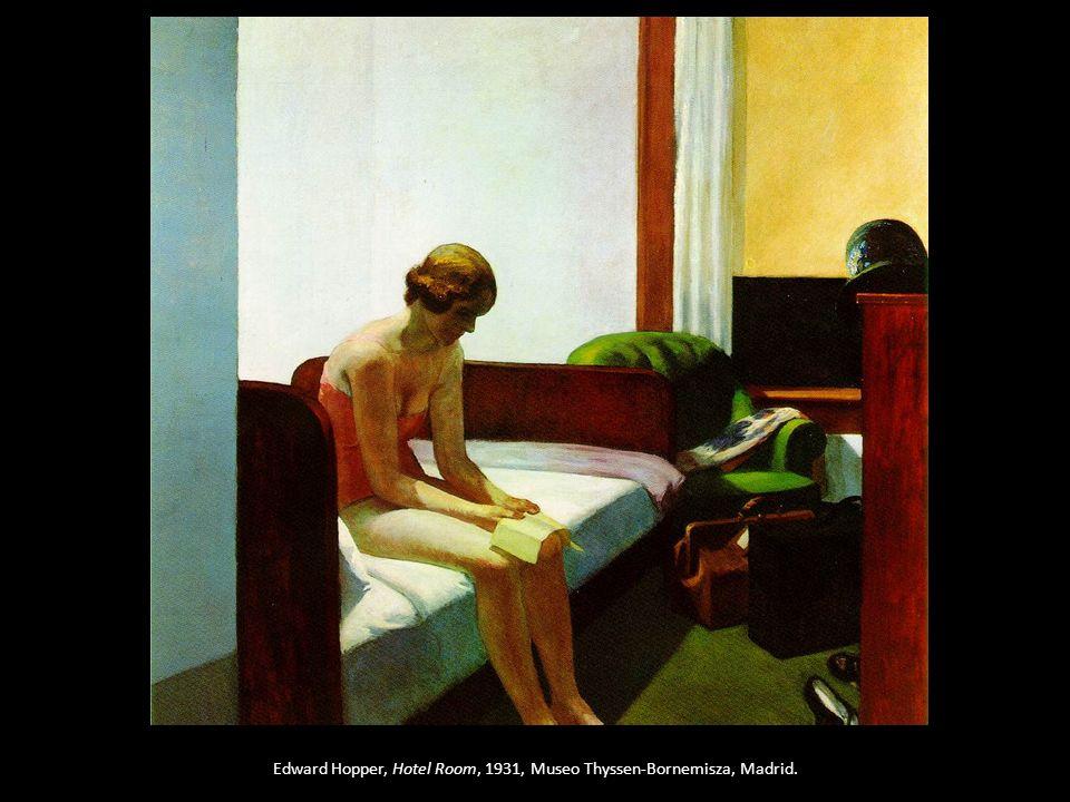 Edward Hopper, Hotel Room, 1931, Museo Thyssen-Bornemisza, Madrid.