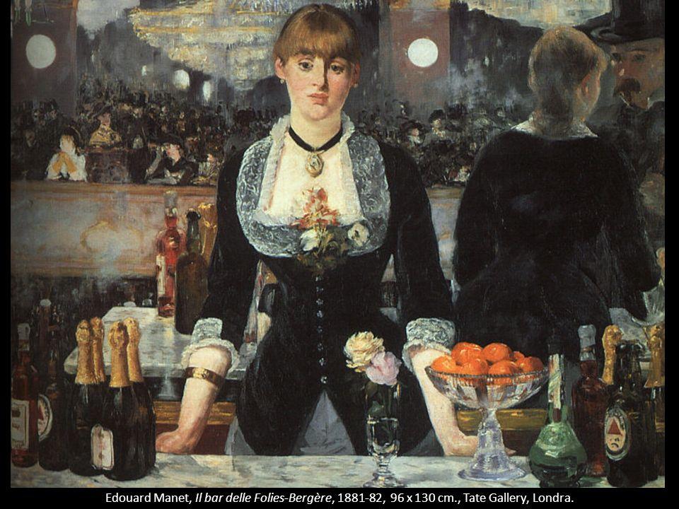 Edouard Manet, Il bar delle Folies-Bergère, 1881-82, 96 x 130 cm., Tate Gallery, Londra.
