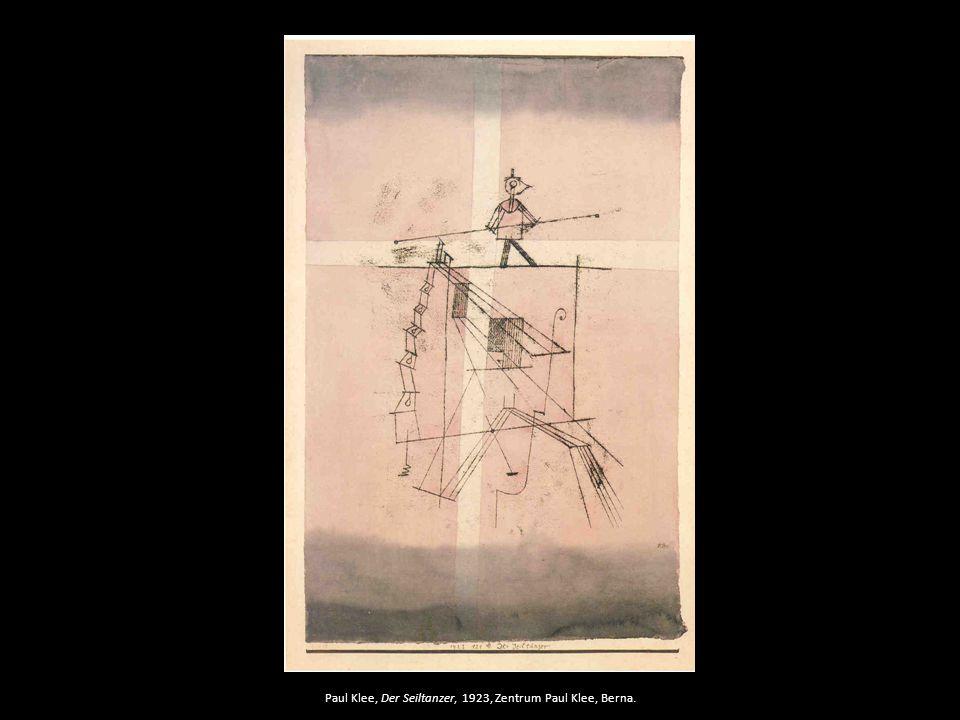 Paul Klee, Der Seiltanzer, 1923, Zentrum Paul Klee, Berna.