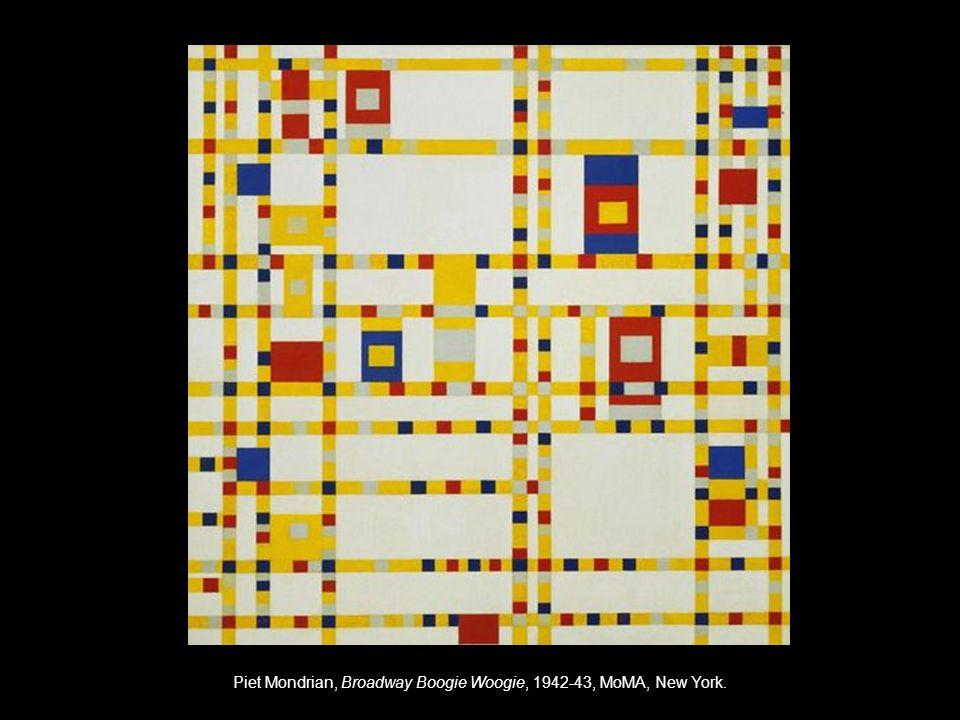 Piet Mondrian, Broadway Boogie Woogie, 1942-43, MoMA, New York.