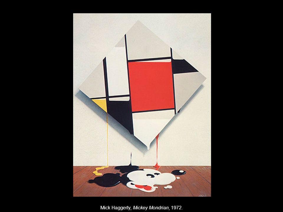 Mick Haggerty, Mickey Mondrian, 1972.